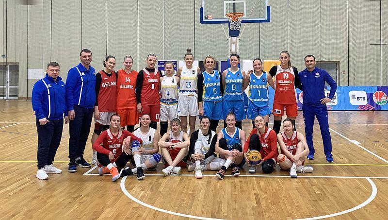 Збірна України 3х3 перемогла на турнірі в Мінську