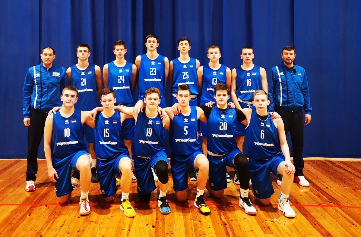 Чоловіча збірна України U-16 обіграла росіян на старті ІІ етапу EYBL