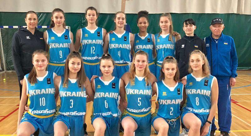 Жіноча збірна України U-16 стартувала на етапі ЄЮБЛ