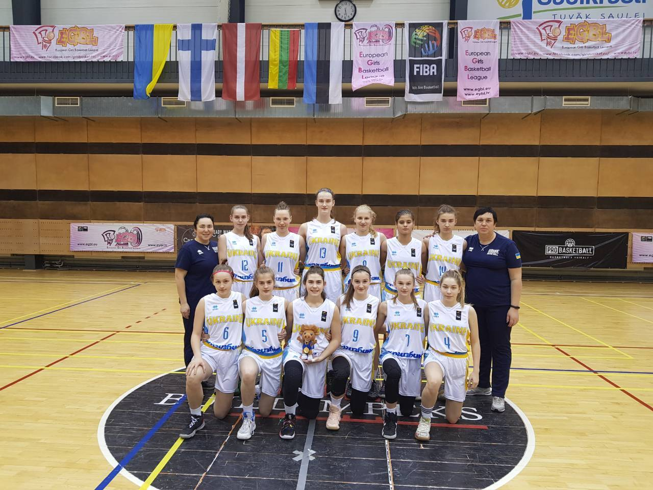Збірні України U-15 та U-16 провели чергові матчі на етапах Європейської юнацької баскетбольної ліги