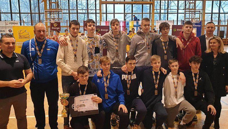 Збірна України U-15 переможно завершила етап ЄЮБЛ
