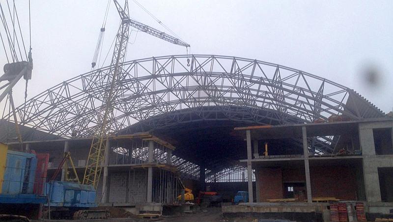 У Рівному будують новий Палац спорту: фотогалерея