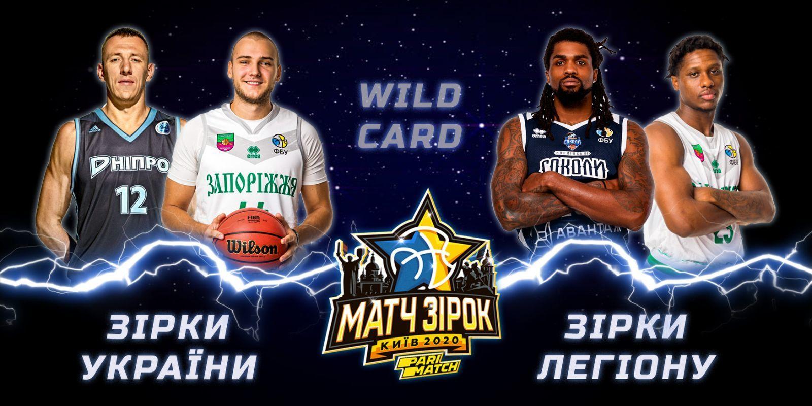 Визначено володарів Wild Card та сформовано повні склади команд України та Легіону на Матч Зірок Суперліги-2020