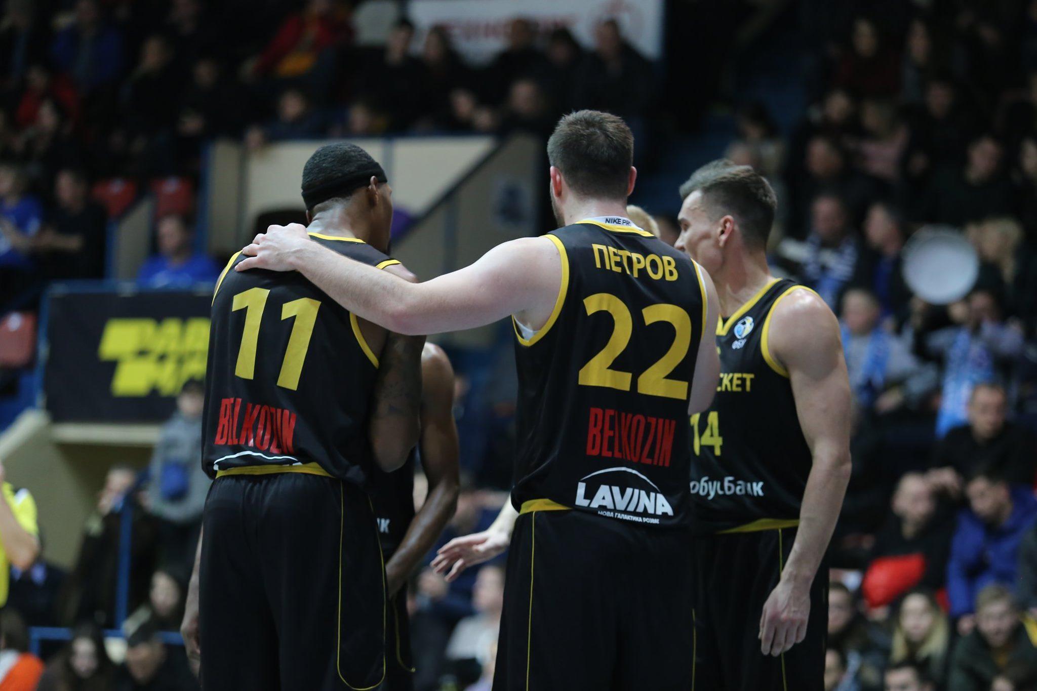 Київ-Баскет піднявся на друге місце у рейтинзі сили Кубка Європи FIBA