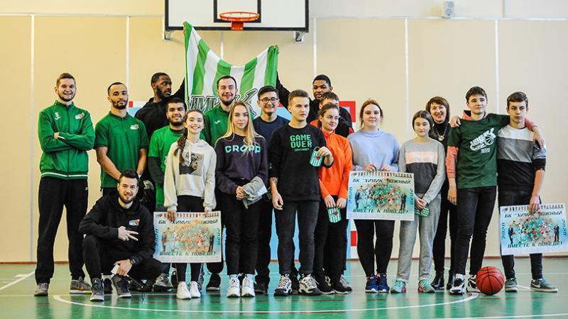 Чемпіони України завітали до школярів