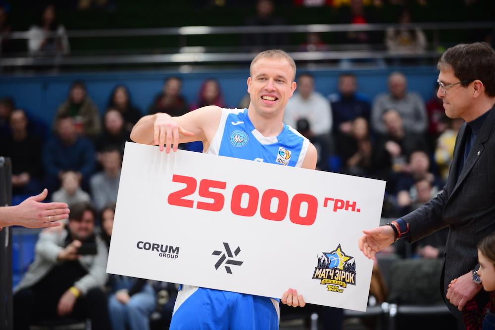 Максим Луценко – переможець конкурсу майстерності Матчу зірок-2020