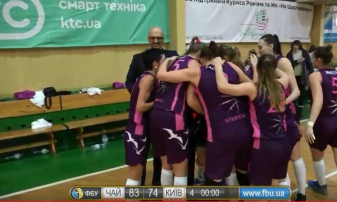 Кубок України (жінки): Чайка вибила Київ-Баскет у півфіналі