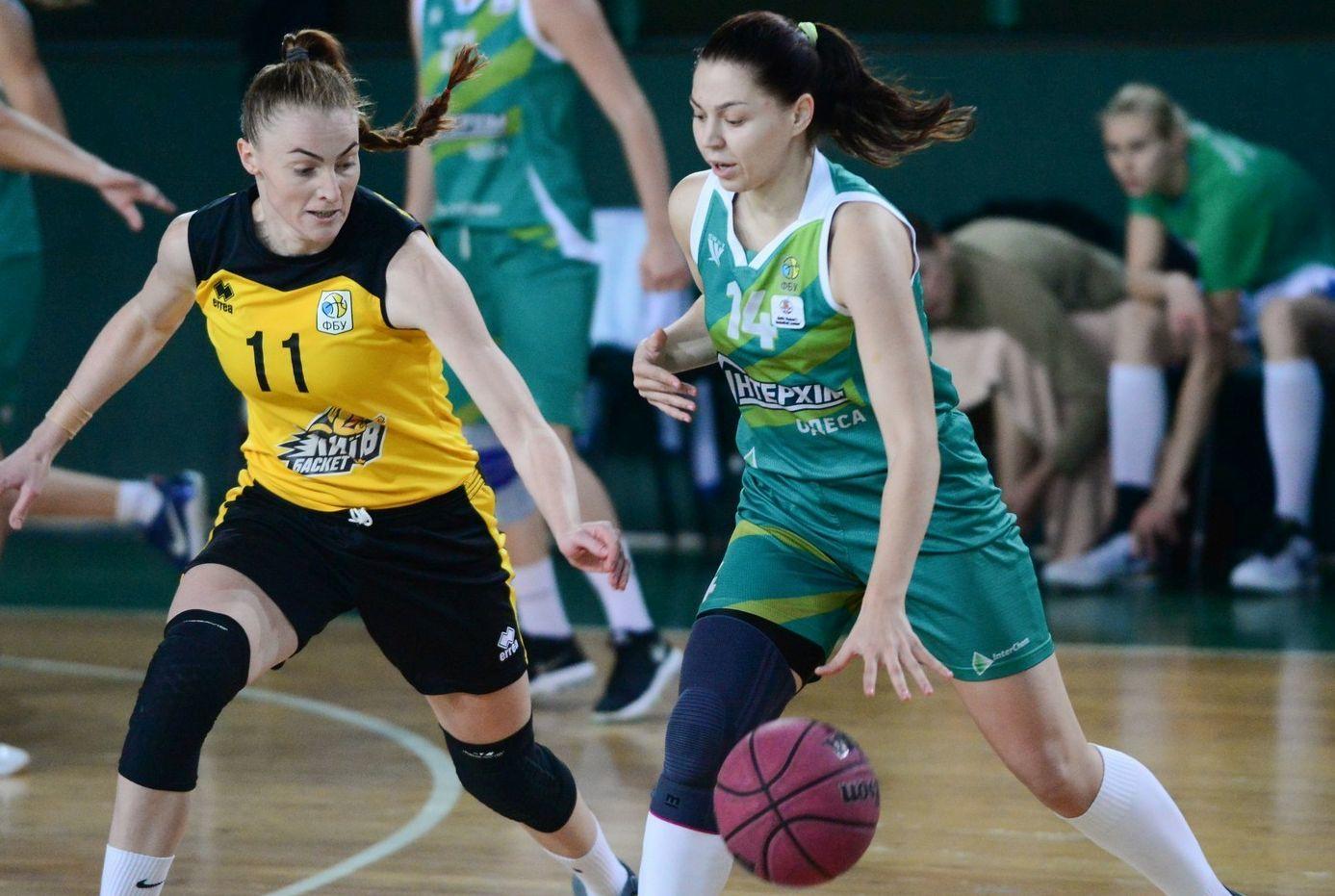 Жіноча Суперліга: Київ-Баскет переміг ІнтерХім-СДЮСШОР