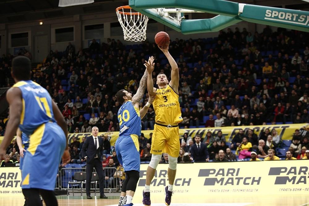 Київ-Баскет програв Вентспілсу і вийшов у плей-оф Кубка Європи з другого місця