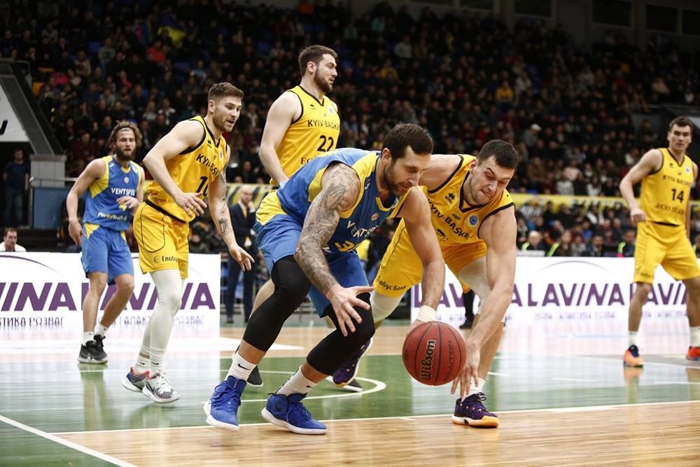 Київ-Баскет не втримав Вентспілс у домашньому матчі Кубка Європи: фотогалерея