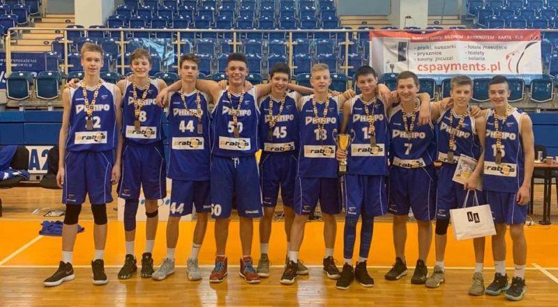Юнаки Дніпра фінішували третіми на етапі ЄЮБЛ