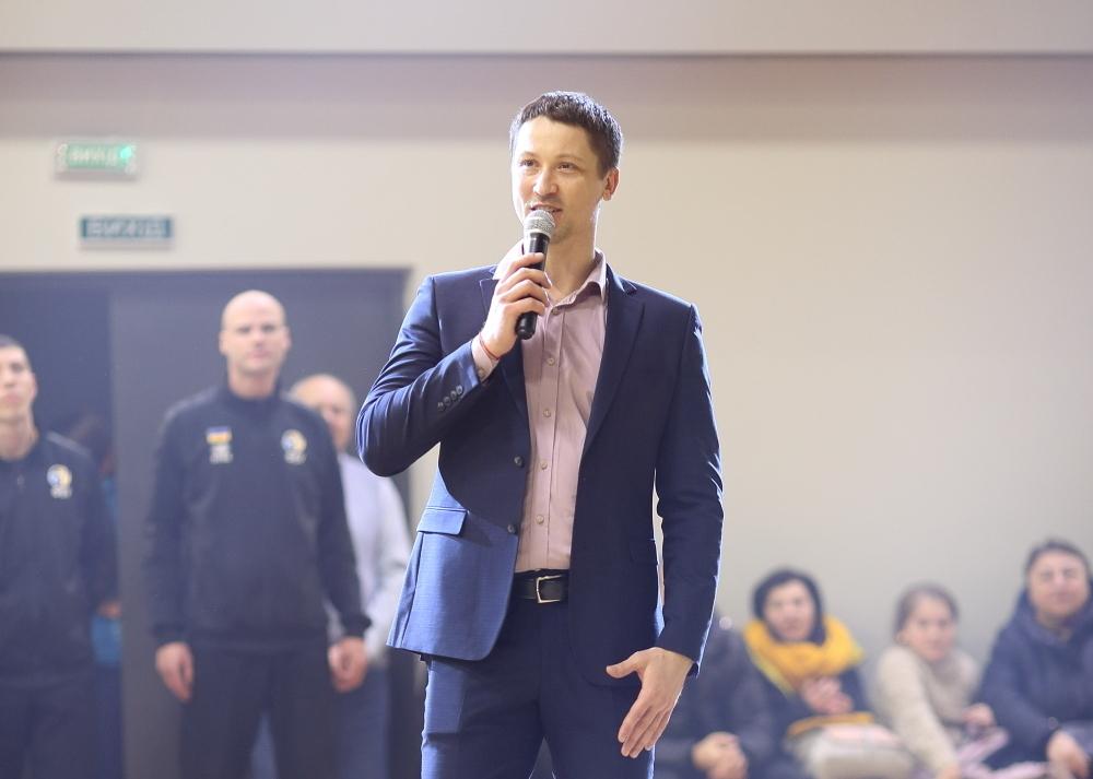 Дмитро Забірченко: новий зал в Тернополі — це лише позитивні ємоції