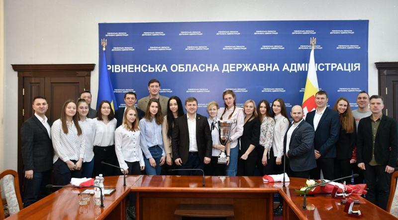 Голова Рівненської ОДА привітав БК Рівне з перемогою в Кубку України
