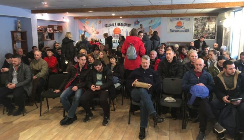 У Одесі відбувся баскетбольний семінар для вчителів