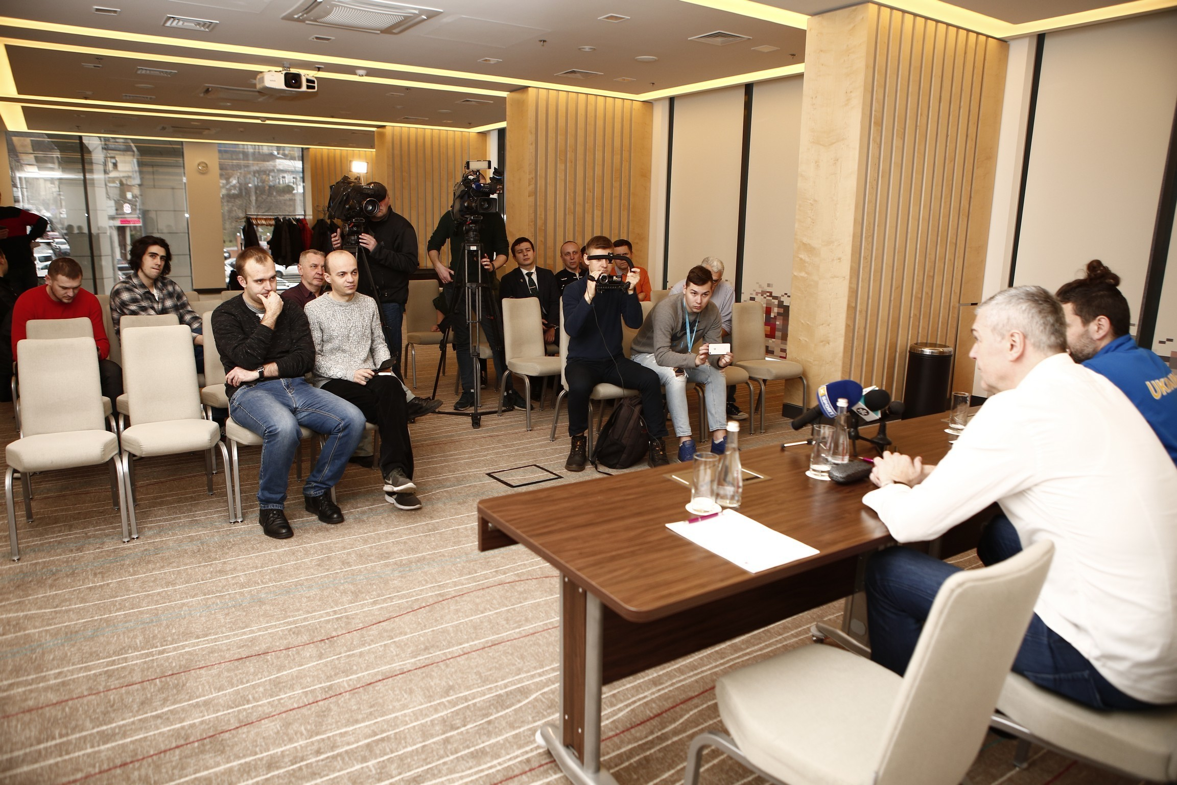 Збірна України запрошує журналістів