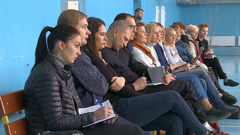 БК Запоріжжя провів семінар для дитячих тренерів