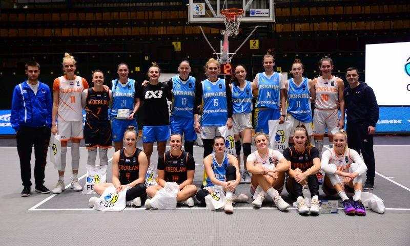 У Києві завершився міжнародний турнір з баскетболу 3х3