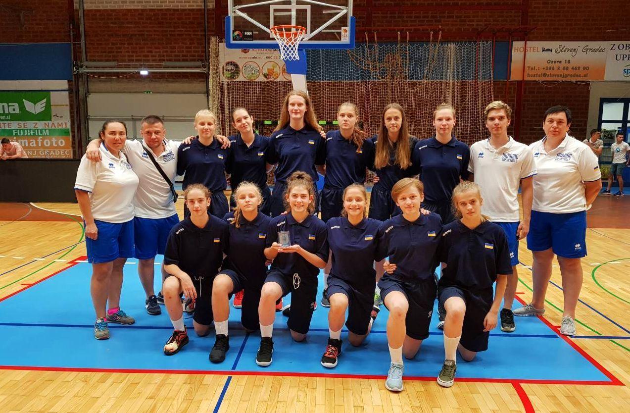 Жіноча збірна України U-15 стартувала на ІІІ етапі EYBL