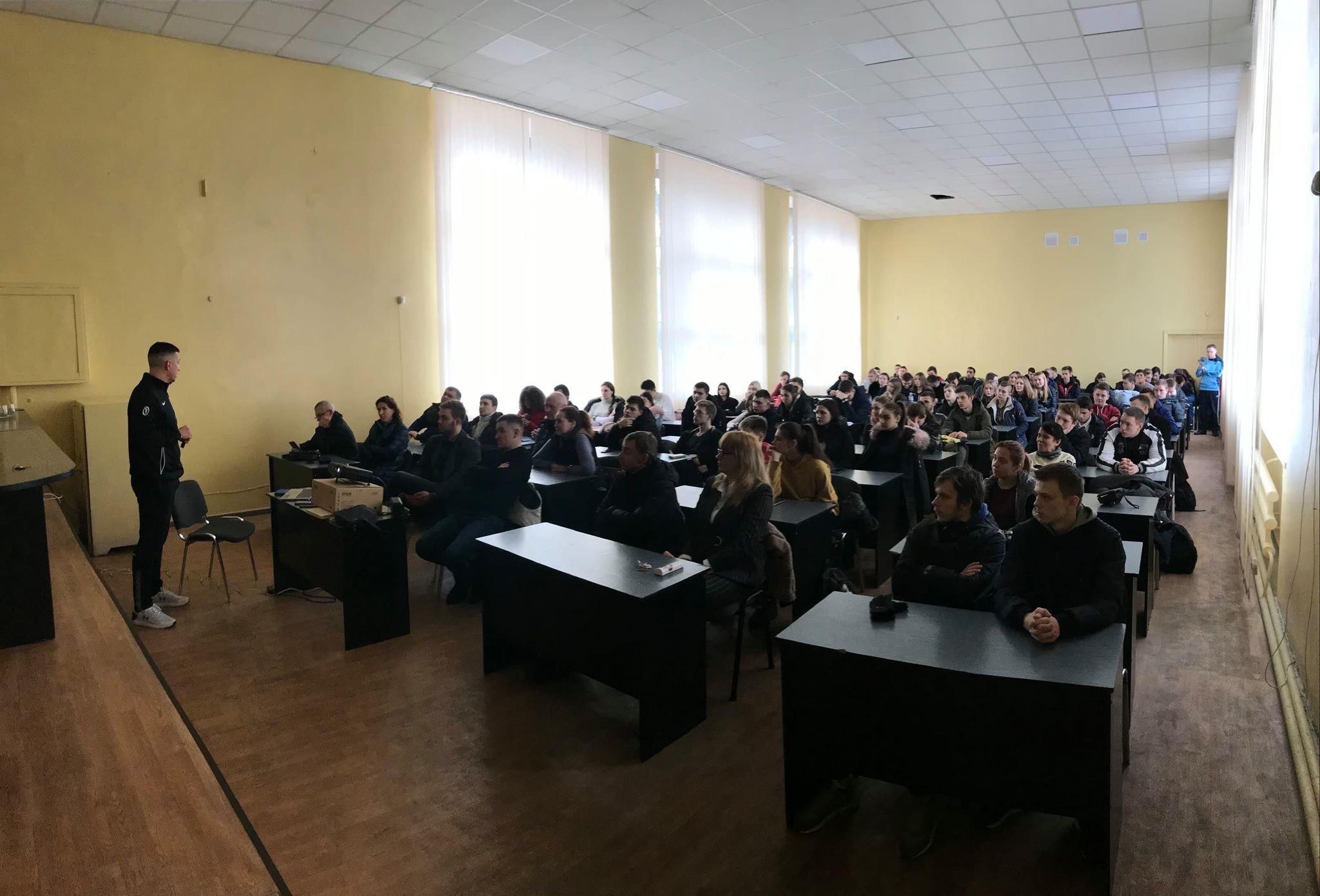 У Дніпрі відбувся майстер-клас від арбітра ФІБА