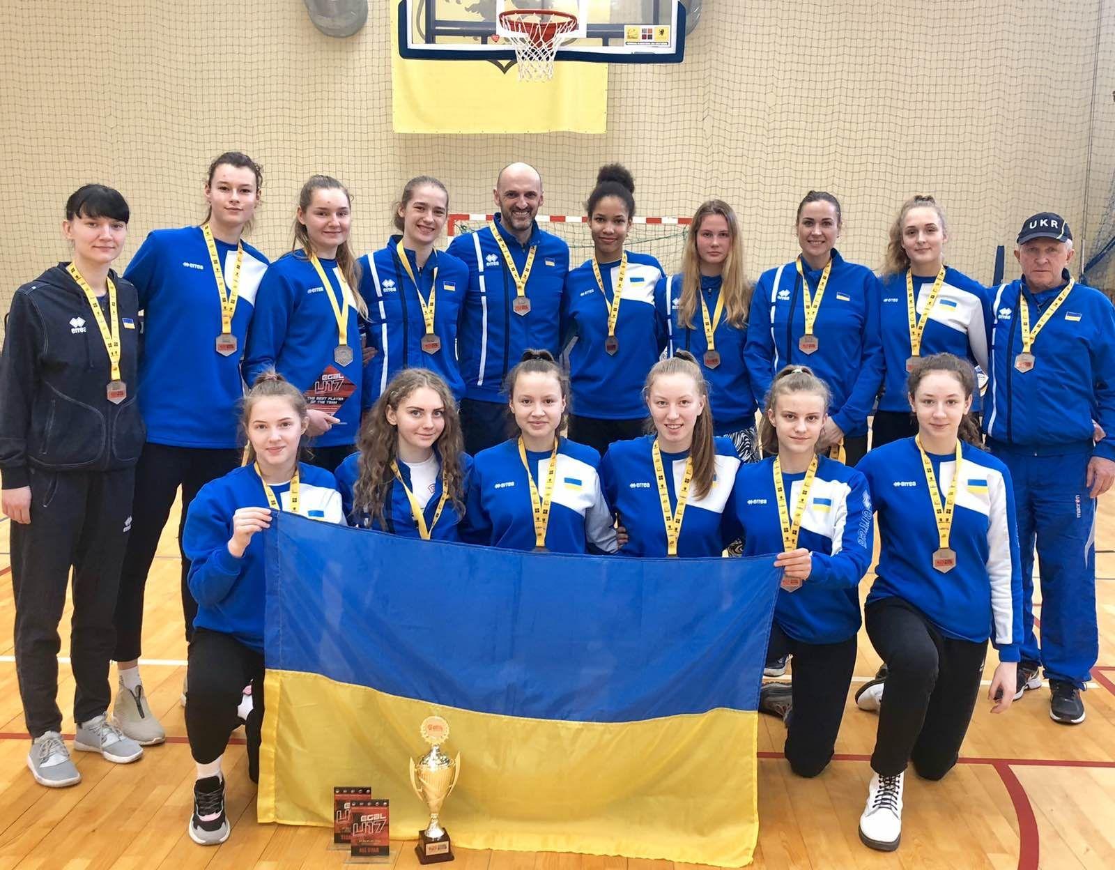 Жіноча збірна України U-16 переможно завершила тур EYBL
