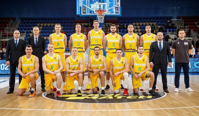 Збірна України залишається в топ-30 рейтингу ФІБА