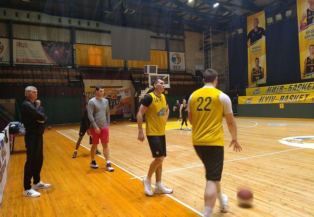 Київ-Баскет провів відкрите тренування перед матчем з Каршиякою
