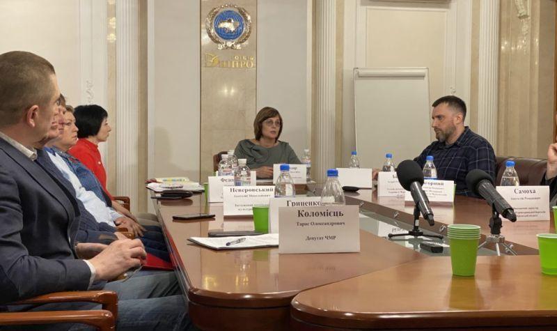 У Черкасах відбулася прес-конференція на тему збереження ПС Будівельник