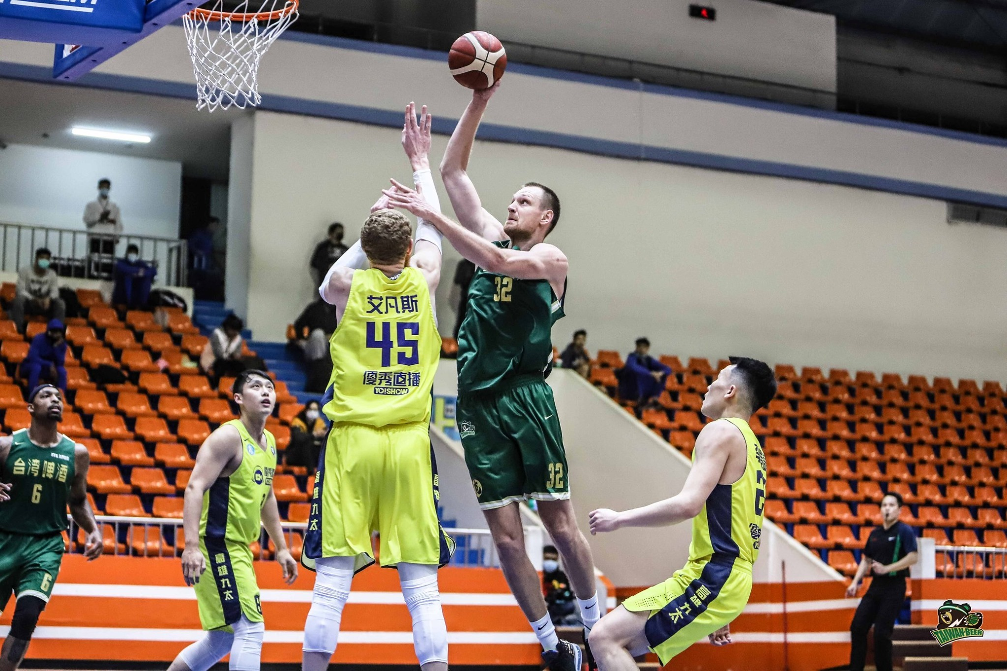 Ігор Зайцев провів два потужних матчі у чемпіонаті Тайваню