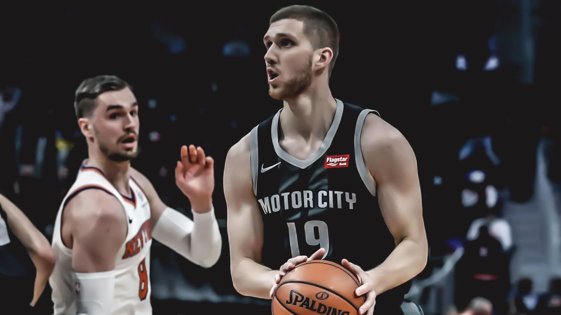 Відео найяскравіших кидків сезону Михайлюка у НБА