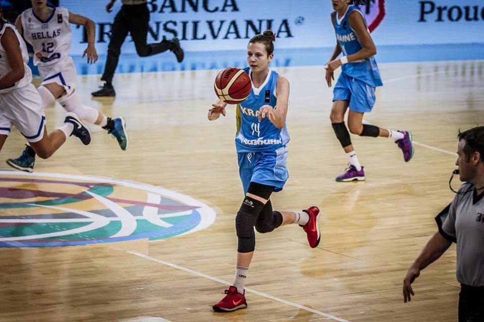 Вероніка Любинець: хочу заграти в Євролізі і в основному складі національної збірної України