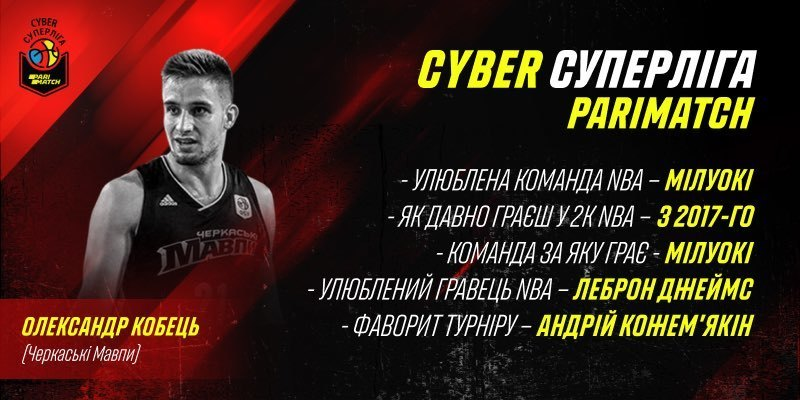 "Cyber Суперлига Пари-Матч: игрок ""Черкаських Мавп"" оценил турнир"