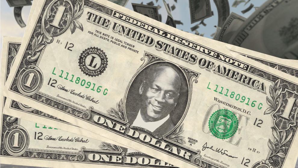 Легендарний Майкл Джордан відмовився в 100-мільйонного конракту