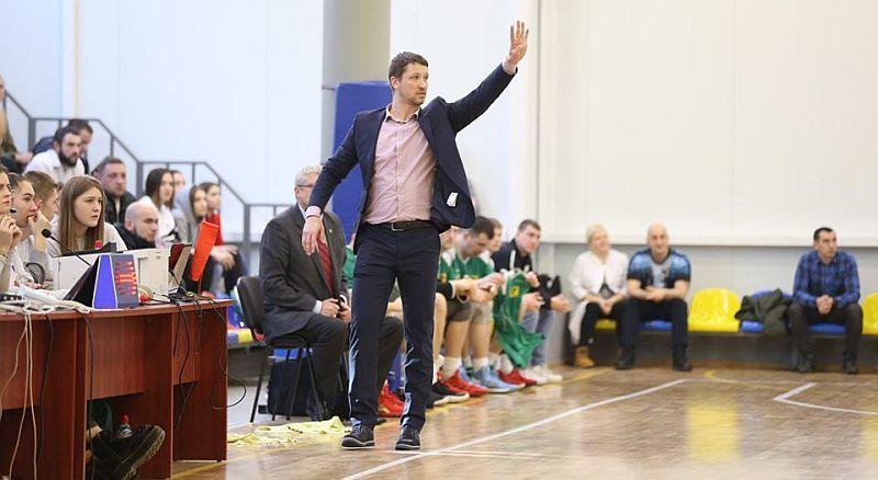 Дмитро Забірченко: хотілося б і надалі працювати з тими ж гравцями в Тернополі