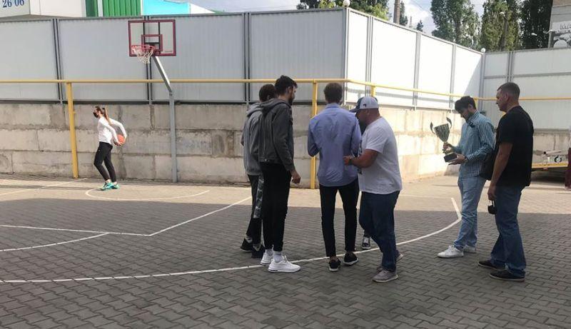 Гравці Ніко-Баскета провели в Миколаєві майстер-клас