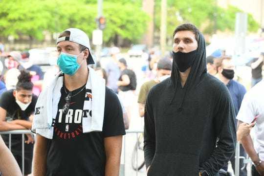 Святослав Михайлюк вийшов на протест у Детройті: фото