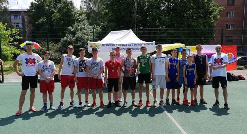 У Житомирі відбулася першість міста з баскетболу 3х3