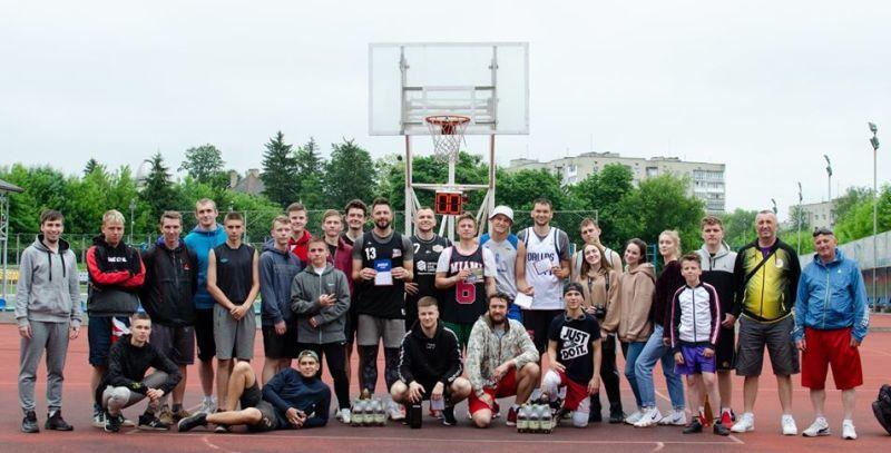 У Луцьку відбувся турнір з баскетболу 3х3