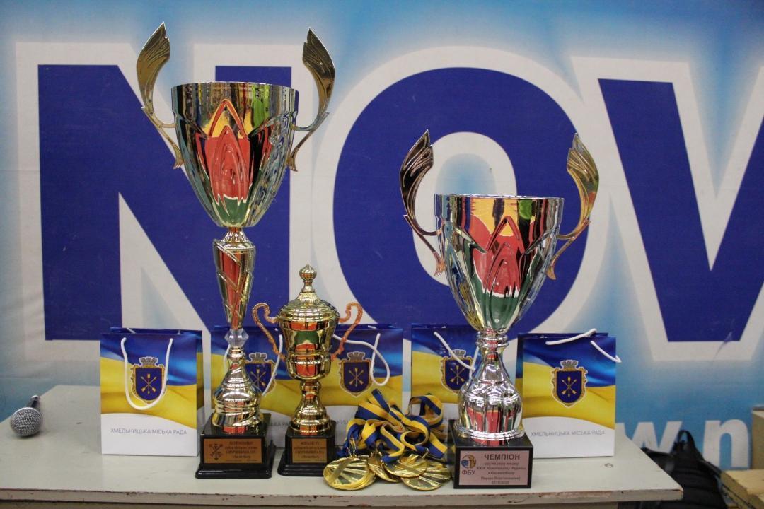 У Хмельницькому підбили підсумки виступу в Першій лізі та завершили Кубок міського голови