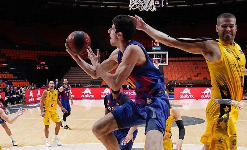 Барселона Пустового зазнала першої поразки на фінальному етапі чемпіонату Іспанії