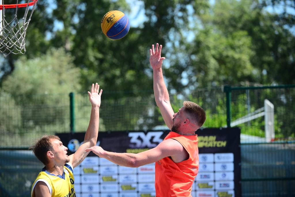 Визначилися чвертьфінальні пари турніру 3х3 в Києві