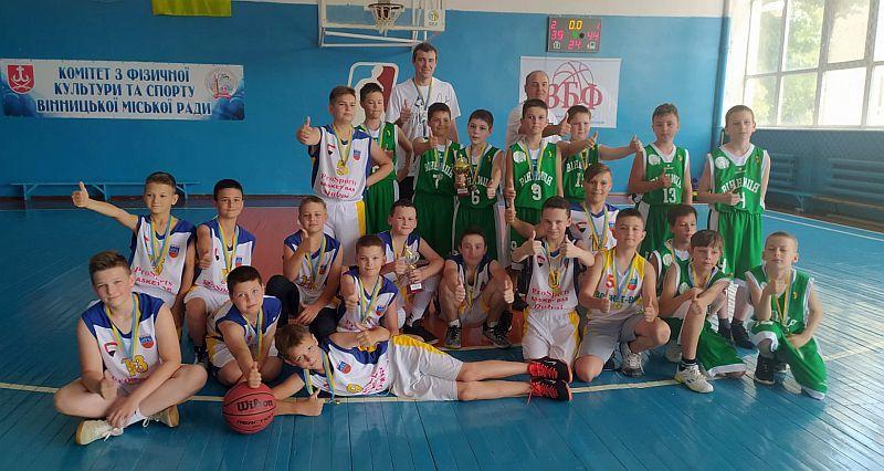 У Вінниці відбувся юнацький турнір