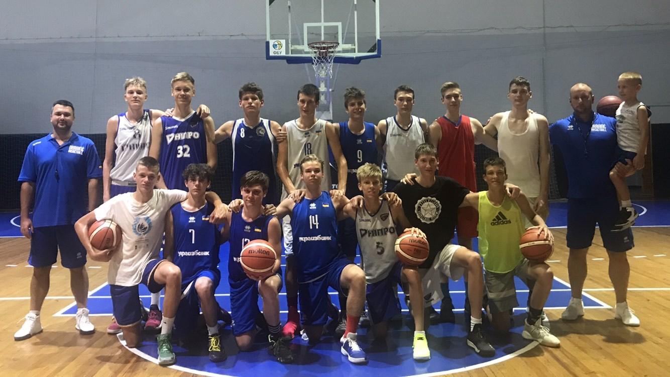 Чоловіча збірна України U-16 проводить тренувальний збір у Запоріжжі
