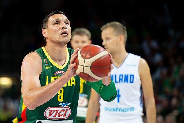 Досвідчений гравець збірної Литви перейшов у баскетбол 3х3 заради Олімпіади