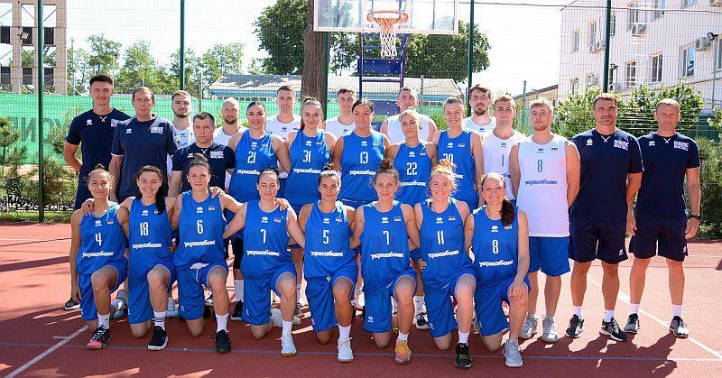 Збірні України 3х3 готуються в Одесі до нового сезону: фотогалерея