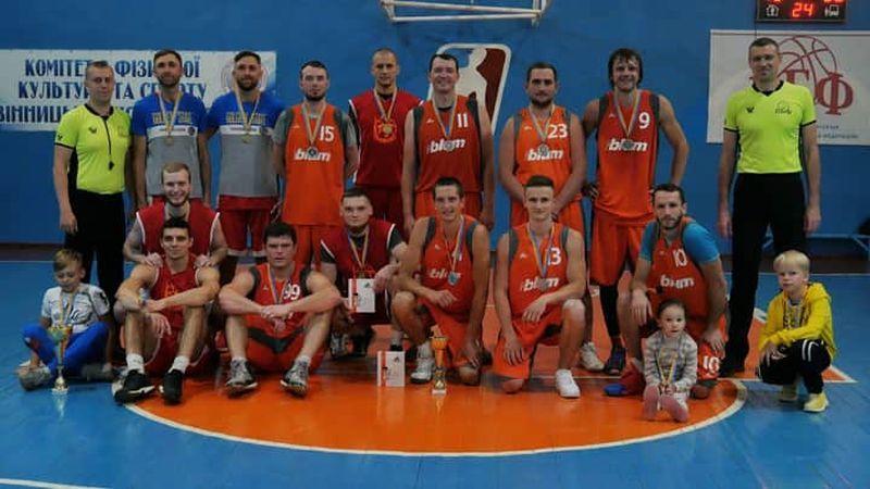 Завершено змагання у Вінницькій аматорській баскетбольній лізі