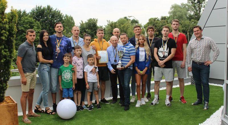 У Львові нагородили призерів Першої ліги