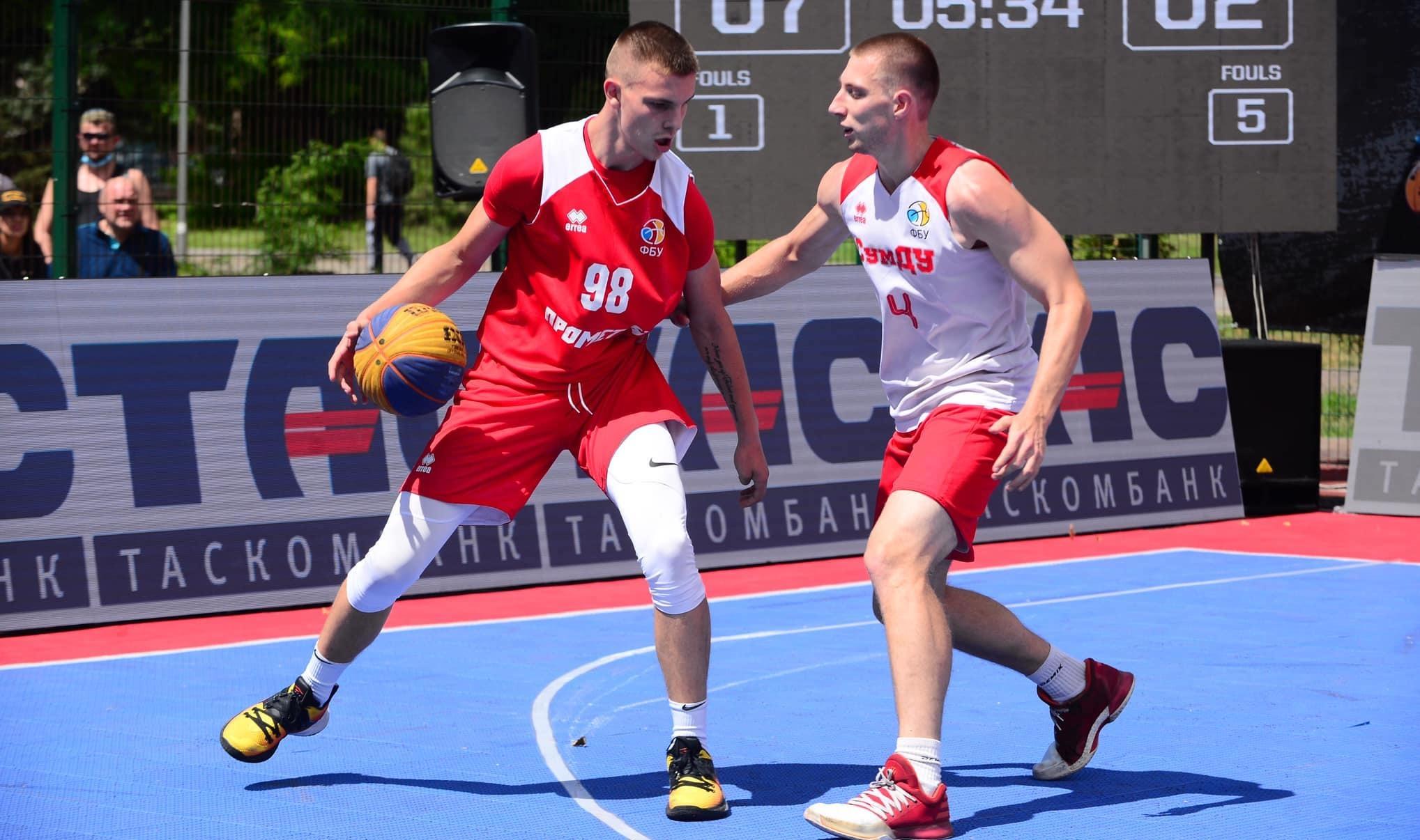 Сформовано сітку плей-оф третього етапу чемпіонату України 3х3