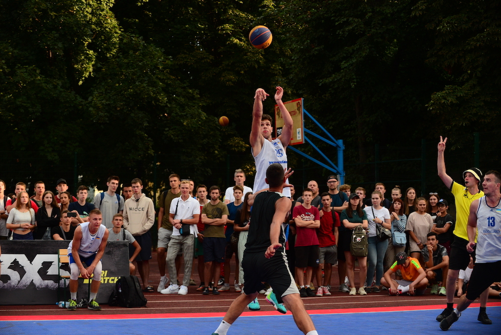 Визначились переможці третього етапу чемпіонату України 3х3