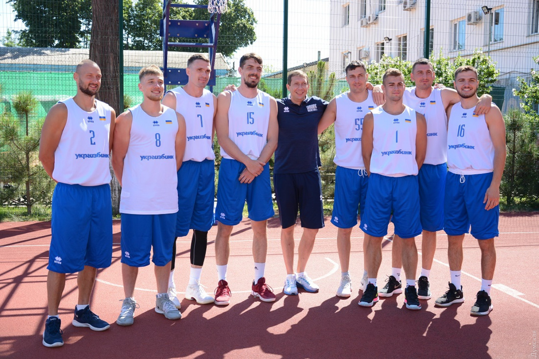 Чоловіча збірна України 3х3 почала збір в Пущі-Водиці