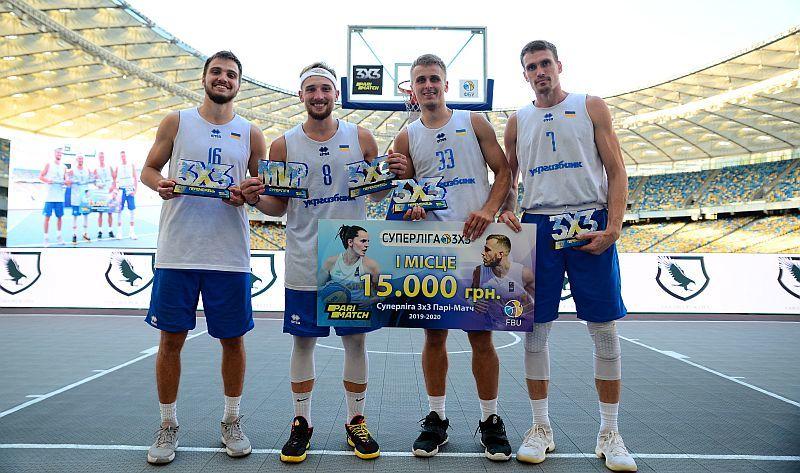 Збірні України перемогли в 5 турі Суперліги Парі-Матч 3х3